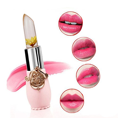 Jalea del lápiz labial, balsamo labios Impermeable AIMEE7 Lápiz labial humectante a prueba de agua de larga duración (G): Amazon.es: Belleza