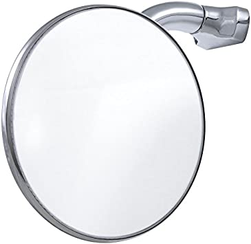 Peep Mirror For Cars Trucks 4/'/' Curved Arm Style