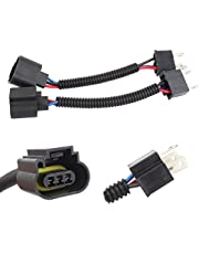TOMALL H4 9003 HB2 Male to H13 9008 Female 12cm(5inch) Retrofit Wiring Harness for LED Headlight Conversion Kit Connector Socket Adapter