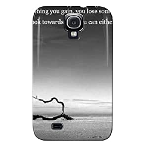 Durable Gray Protective Hard Case For Sumsang Galaxy S4 Regret Or Rejoice