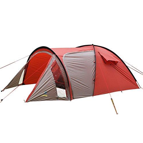 本質的に文献散歩Palm Beach 1107四季節適用 防暴雨 防風 組み立て簡単 一人設営可能 3-4人用 アウトドア専用キャンプテント