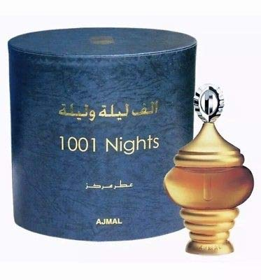(Ajmal Alf Lail O Lail 1001 Nights for Men and Woman (Unisex) CPO - Concentrated Perfume Oil (Attar) 30 ML (1.6 oz))