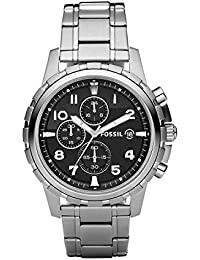 Men's FS4542 Dean Silver-Tone Stainless Steel Chronograph Watch