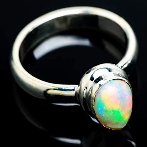 Ethiopian Opal エチオピアオパールシルバー925リング6.25