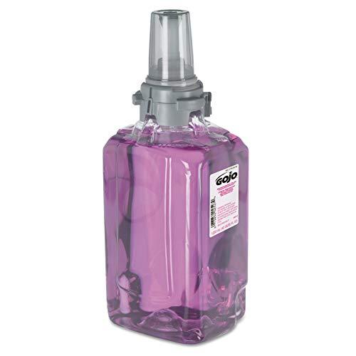 GOJO 881203CT Antibacterial Foam Handwash, Refill, Plum, 1250mL Refill (Case of 3)