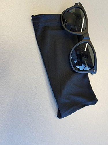 3c13a05efc Wayfarer Style Sunglasses Set Black Polarized Large Unisex Outdoor Sports  Glasses for Men Women Teens with