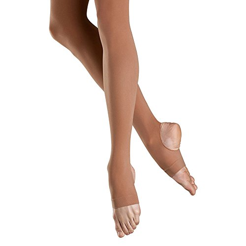 Bloch Women's Stirrup Tights, Tan-B
