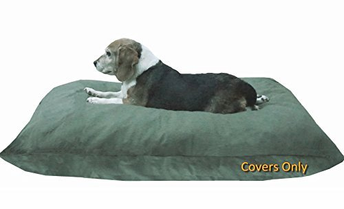 Do It Yourself DIY Pet Bed Pillow Duvet Canvas Cover + Waterproof Internal case for Dog/Cat at Medium 36