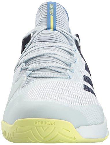 Adidas Hommes Adizero Ubersonic 2 Chaussure De Tennis Teinte Bleue / Encre Noble / Semi-gelée Jaune