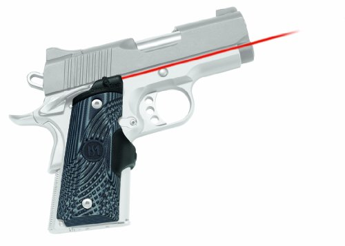 UPC 610242001811, Crimson Trace 1911 Officer's/Defender/Compact - Master Series G10 Tactical Lasergrips