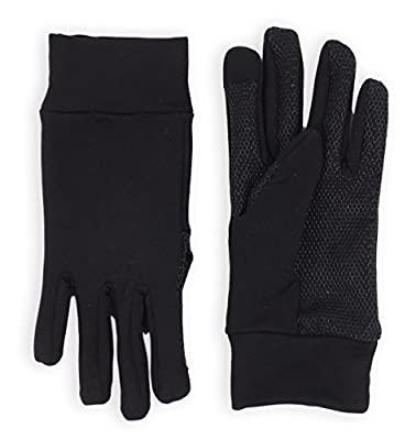 Tough Outdoors Touch Screen Gloves - Thermal Glove Liners Designed for Running, Skiing, Snowboarding, Cycling & Texting - 90% Nylon 10% Spandex Reinforced Blend - Fits Men & Women