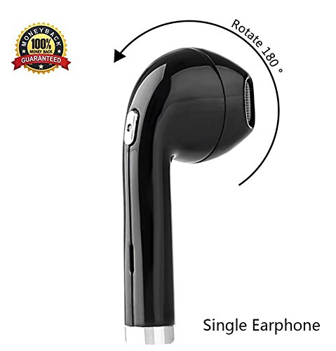 Wireless Bluetooth Earbuds,180°Rotation i8 Mini Wireless Ea
