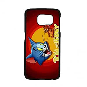 Custom Design Phone Funda Tom And Jerry Funda Cover Samsung Galaxy S7 Funda Skin Hard Funda