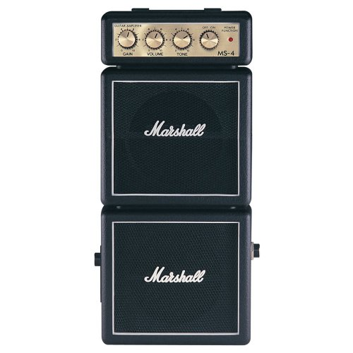 Marshall MS4 Mini Micro Full Stack Battery Amplifier - Mini Stack