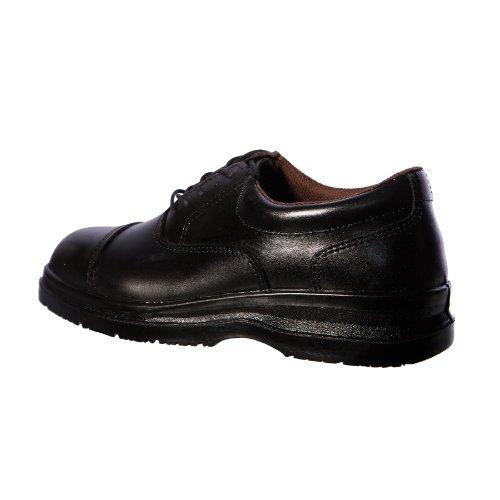 Grafters Grafters - Zapatos de cordones de Piel para hombre Negro negro Black Smooth Leather