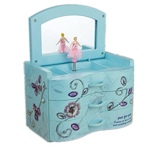 Light Blue Music Box - 2