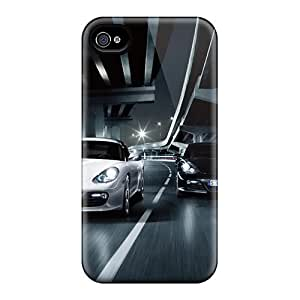 For Iphone 4/4s Premium Tpu Case Cover Cayman R Protective Case