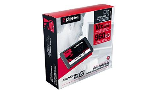 Kingston Digital 960GB SSDNow V310 SATA 3 2.5 Solid State Drive Desktop Bundle Kit with Adapter 2.5-Inch SV310S3D7/960G