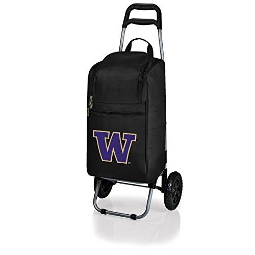 NCAA Washington Huskies Insulated Cart Cooler with Wheeled Trolley, ()