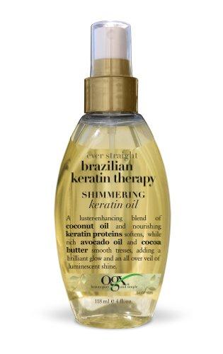 OGX Shimmering Keratin Straight Brazilian product image