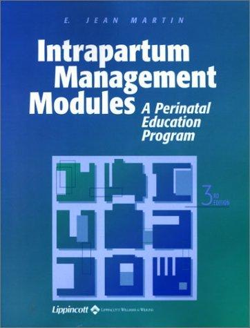 intrapartum management modules - 4