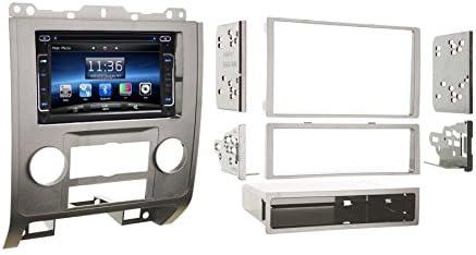 Amazon.com: OTTONAVI Ford Escape 2008-2012 Silver Dash Kit + In Dash Multimedia 6.2