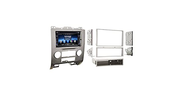 Amazon.com: OTTONAVI Ford Escape 2008-2012 Silver Dash Kit + In Dash Multimedia 6.2