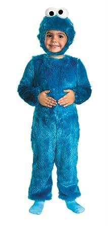 Disfraces para todas las ocasiones DG25965M Cookie Monster 3T-4T