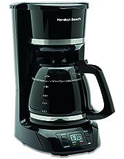 Hamilton-Beach 43874 12 Cup Digital Coffee Maker,Black