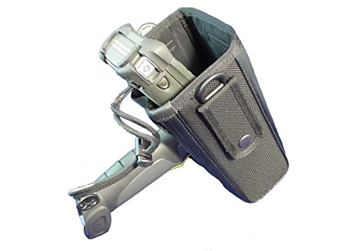 Universal Waist Belt Holster: for Warehouse Barcode Scanners, MC9xxx Series, And More (Symbol Handheld Holster)