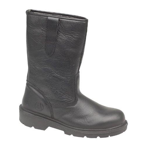Bottes de sécurité de manutentionnaire SB-P Amblers Steel FS224 pour homme (47 EUR) (Noir)
