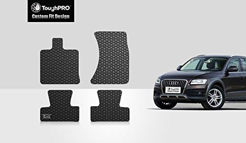 ToughPRO Audi Q5 Floormats Set – All Weather – Heavy Duty – Black Rubber – 2009-2017