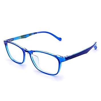 f0622ff8671a Amazon.com: Jcerki Blue Frame Bifocal Reading Glasses 1.50 Strengths ...