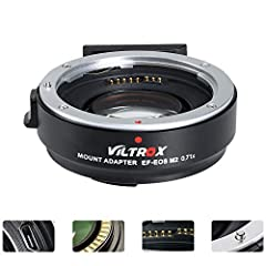 VILTROX EF-EOS M2 mount adapter is designed to allow Canon EF-mount series lenses to be used on interchangeable-lens digital cameras that compatible with EF-M lens.  Focal length is multiplied by 0.71 based on the original (equivalent focal l...