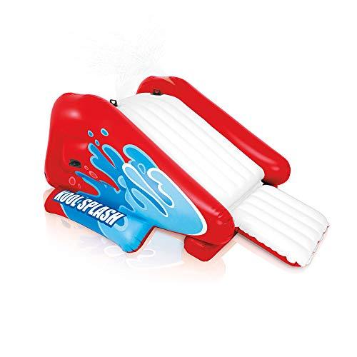 Splash Water Slide - Intex Kool Splash Kids Inflatable Swimming Pool Water Slide Accessory 58849EP