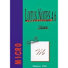 Lotus notes utilisateur 4.6