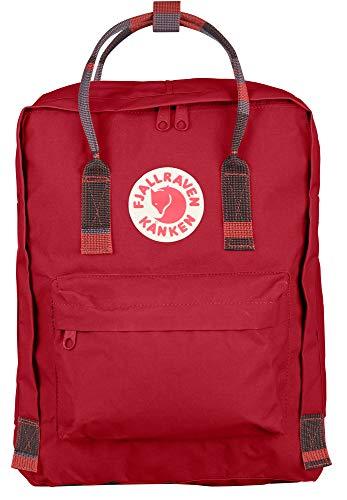 Fjallraven - Kanken Classic Backpack for Everyday, Deep Red-Random Blocked
