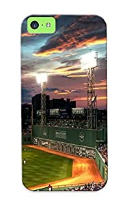 Honeyhoney Iphone 5c Well-designed Hard Case Cover Baseball Fenway Park Protector For New Year's Gift
