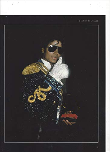 (Photograph With Michael Jackson Giving Thumbs Up In White)