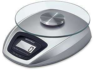 Soehnle siena b scula de cocina digital color gris for Bascula cocina amazon