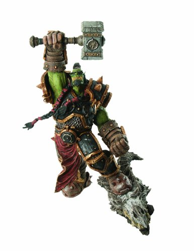 DC Comics World of Warcraft: Premium Series 2: Orc Warchief: Thrall Action Figure Premium Series 2 Figure