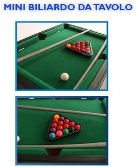 MINI MESA DE BILLAR GAME BOY FUTBOLIN DE JUGUETES 927 052: Amazon.es: Electrónica