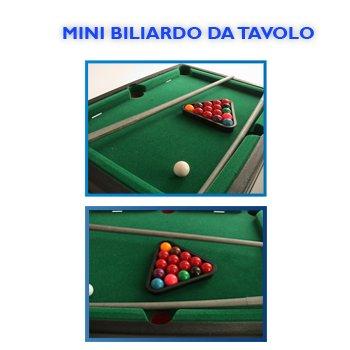 MINI MESA DE BILLAR GAME BOY FUTBOLIN DE JUGUETES 927 052: Amazon ...