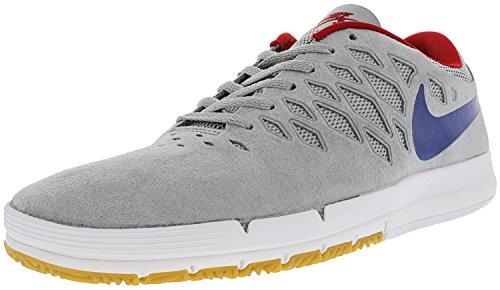Nike Womens Free 5.0 Running Sneaker Lupo Grigio / Gomma Reale / Università Rosso