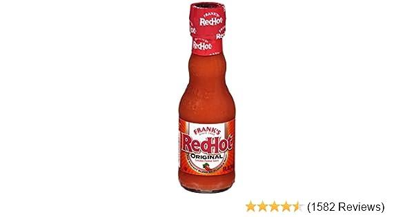 Frank's RedHot Original Cayenne Pepper Sauce, 5 fl oz