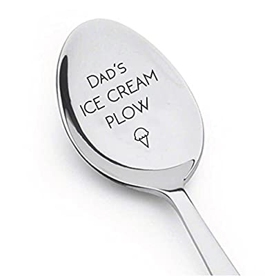 Dad's Ice Cream Plow - Ice Cream Lover - Cute Unique Gift - Best Selling Item - Gift for Him -Gift for Her