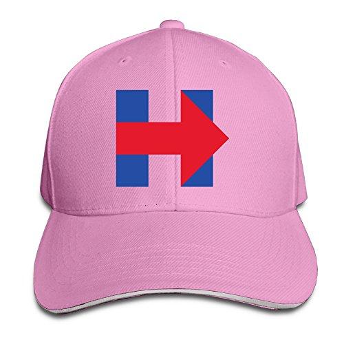 Baseball Caps Hillary H Unisex Ajustable Snapback–Gorra de béisbol 100% algodón Ash Talla única