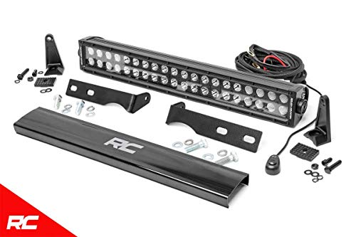 Rough Country Hidden LED Bumper Mounting Kit Compatible w/ 2011-2019 Jeep Grand Cherokee WK2 20