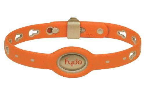 Teafco Fydo Action Water Resistant Medium Dog Collar, Tango Orange, My Pet Supplies