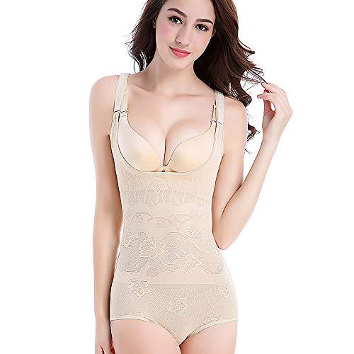 Good-start Women's Shaperwear,Adjustable Tummy Control Seamless Firm Control Waist Shaper Women Body Shapewear (M, Beige)